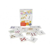Masterkidz - Wooden Learning Puzzle Numbers