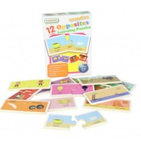 Masterkidz - Wooden Learning Puzzle Opposites