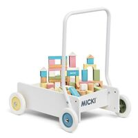 Micki - Baby Walker with 50 Blocks
