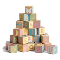 Micki - Alphabet Blocks - Pastel