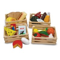 Melissa & Doug - Wooden Food Groups
