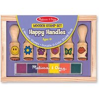 Melissa & Doug - Happy Handle Stamp Set
