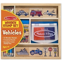 Melissa & Doug - Vehicle Stamp Set