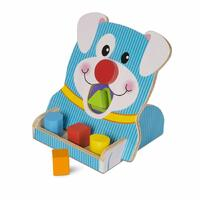 Melissa & Doug - First Play - Spin & Feed Shape Sorter