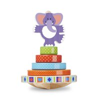 Melissa & Doug - First Play - Elephant Rocking Stacker