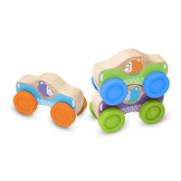 Melissa & Doug - First Play - Animal Stacking Cars