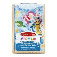 Melissa & Doug - Mermaid Magnetic Dress-Up Play Set