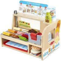 Melissa & Doug - Slice & Stack Sandwich Counter
