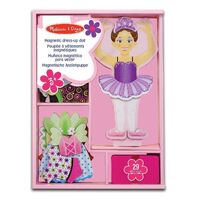 Melissa & Doug - Nina Ballerina Magnetic Dress-Up