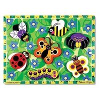 Melissa & Doug - Insects Chunky Puzzle - 7pc