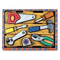 Melissa & Doug - Tools Chunky Puzzle - 7pc