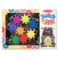 Melissa & Doug - Switch and Spin Magnetic Gear Board