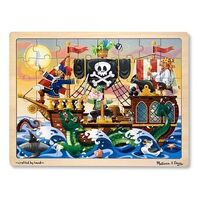 Melissa & Doug - Pirate Adventure Jigsaw Puzzle - 48pc