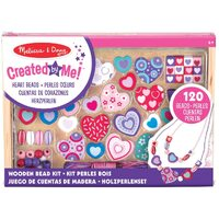 Melissa & Doug - Hearts Bead Set