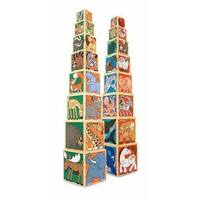 Melissa & Doug - Wooden Animal Nesting Blocks