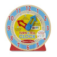 Melissa & Doug - Turn & Tell Clock