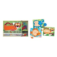 Melissa & Doug - Animal Pattern Blocks Set