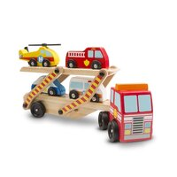 Melissa & Doug - Emergency Vehicle Carrier