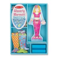 Melissa & Doug - Merry Mermaid Magnetic Dress-Up