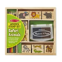 Melissa & Doug - Safari Animals Stamp Set