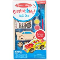 Melissa & Doug - Decorate-Your-Own Wooden Race Car