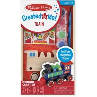 Melissa & Doug - Decorate Your Own Wooden Train