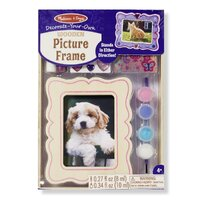 Melissa & Doug - Decorate-Your-Own  Wooden Picture Frame