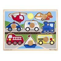 Melissa & Doug - Vehicles Jumbo Knob Puzzle