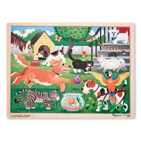Melissa & Doug - Pets At Play Jigsaw - 24pc