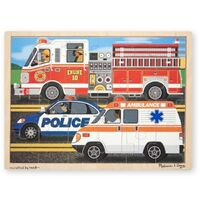 Melissa & Doug - To The Rescue Jigsaw - 24pc