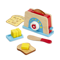Melissa & Doug - Let's Play House! Toaster, Bread & Butter Set