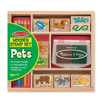 Melissa & Doug - Pets Stamp Set