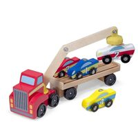 Melissa & Doug - Magnetic Car Loader