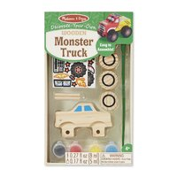 Melissa & Doug - Decorate-Your-Own Wooden Monster Truck