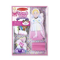 Melissa & Doug - Tutus & Wings Magnetic Dress-Up