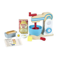 Melissa & Doug - Wooden Make-A-Cake Mixer Set