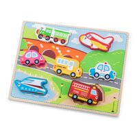 New Classic Toys - Transport Puzzle 7pc