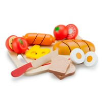 New Classic Toys - Breakfast Cutting Meal
