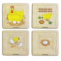 Fun Factory - Chicken 4 Layer Puzzle