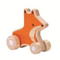 PlanToys - Fox Wheelie