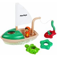 PlanToys - Activity Fishing Boat
