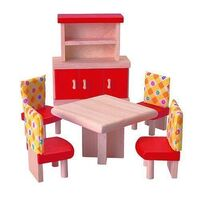 PlanToys - Dining Room Furniture - Neo 6pcs