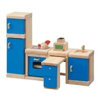 PlanToys - Kitchen Furniture - Neo 14pcs
