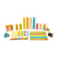 Tegu - Magnetic Wooden Blocks 42pc - Tints