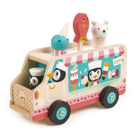 Tender Leaf - Tutti Frutti Ice Cream Van with Penguins