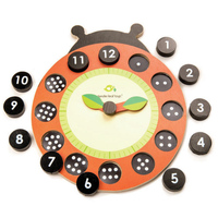 Tender Leaf - Ladybug Teaching Clock