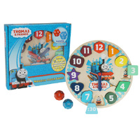 Thomas & Friends - Wooden Clock Game