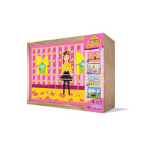 The Wiggles - Emma 4 in 1 Wooden Puzzles