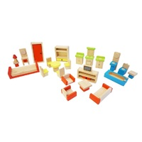 Fun Factory - Doll House Furniture Set 26pc