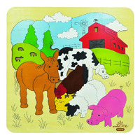Andzee - Farm Scene Puzzle 31pc